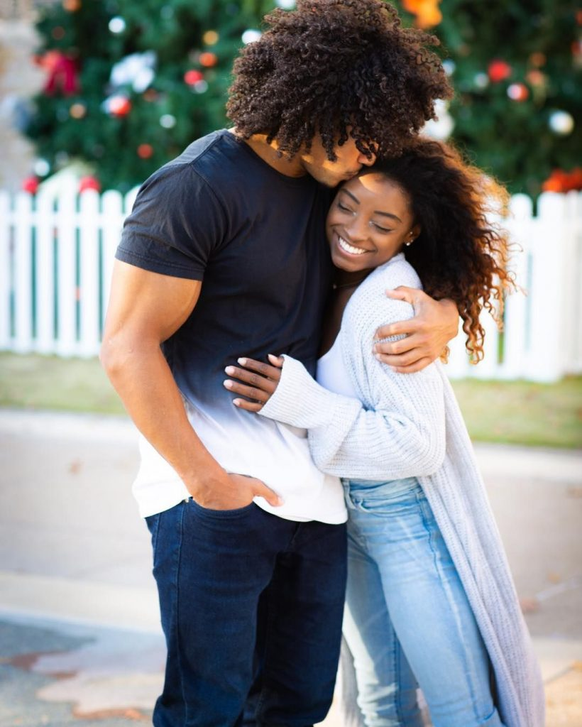 Olympic Superstar Simone Biles Celebrated NYE With Her ...